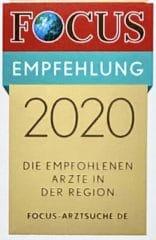 Focus Empfehlung 2020